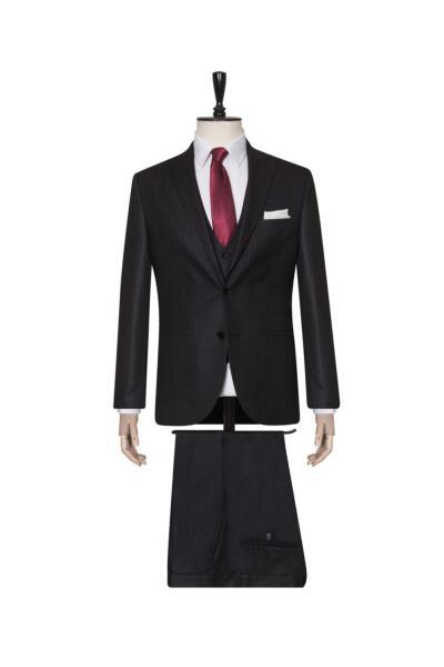 فروش پستی ست کت شلوار مردانه برند SÜVARİ رنگ مشکی کد ty103399271