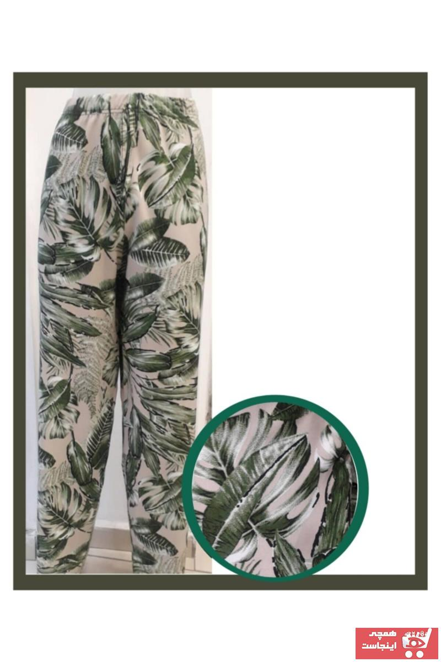 شلوار زنانه ارزان قیمت برند Damla Gül Giyim رنگ سبز کد ty103578357