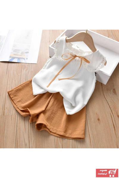 قیمت ست لباس دخترانه برند BUTTERFLYKIDSWEAR رنگ قهوه ای کد ty103887274