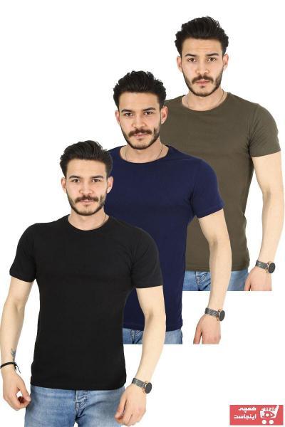 خرید تی شرت 2020 مردانه برند Ette رنگ خاکی کد ty103965241