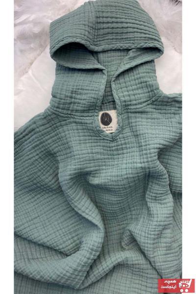 کاپشن طرح دار برند IKI BABY AND KIDS رنگ سبز کد ty104008319
