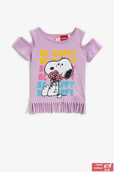 خرید نقدی تیشرت ارزان نوزاد دخترانه برند کوتون رنگ بنفش کد ty104189155