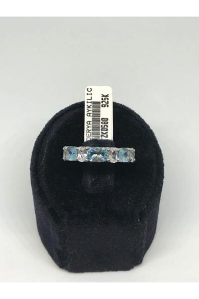 انگشتر بلند برند Derya Aykılıç Mücevherat رنگ فیروزه ای ty104361145