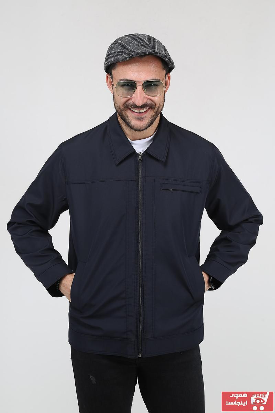 فروش انلاین کاپشن مردانه مجلسی برند REGOS رنگ لاجوردی کد ty104842962