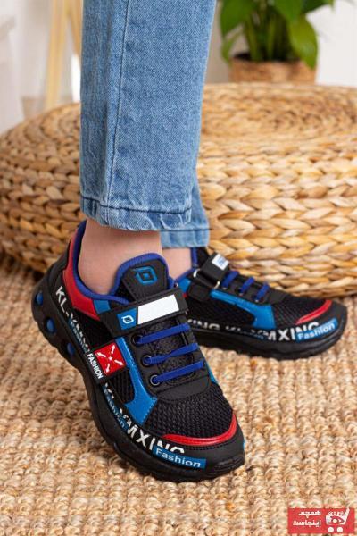 فروش  کفش اسپرت بچه گانه دخترانه ترک برند WOVS رنگ مشکی کد ty104906747