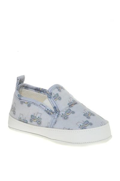 فروش کفش تخت نوزاد پسر جدید برند Mammaramma رنگ آبی کد ty104975797