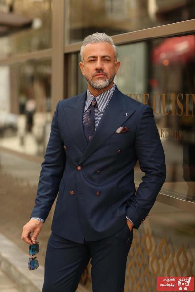 کت شلوار خاص برند Fc Plus رنگ لاجوردی کد ty105226594