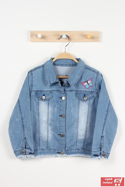 ژاکت دخترانه شیک مجلسی برند Mckanzie رنگ آبی کد ty105274116