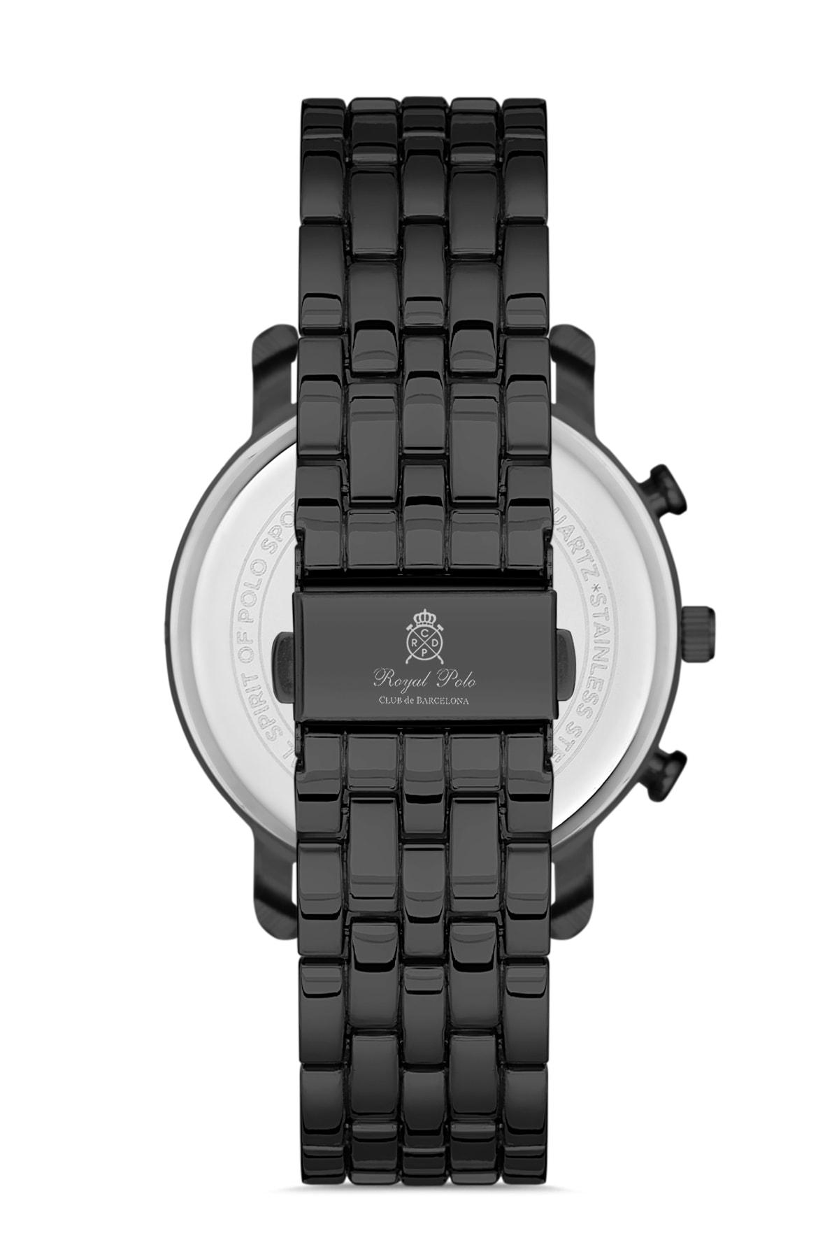 خرید انلاین ساعت مردانه  برند Royal Club De Polo Barcelona رنگ مشکی کد ty105374017