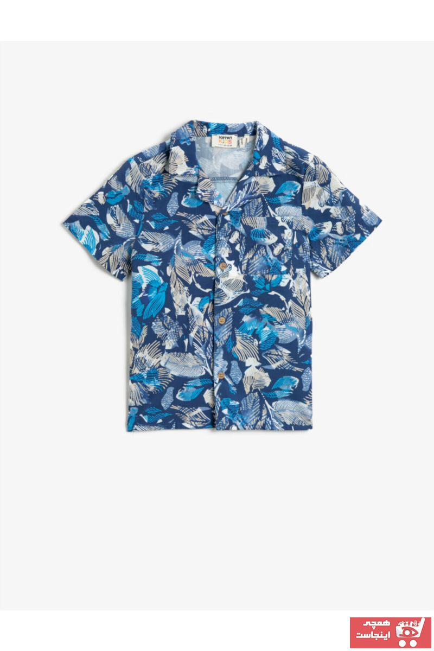خرید پیراهن خفن برند کوتون رنگ آبی کد ty105558360