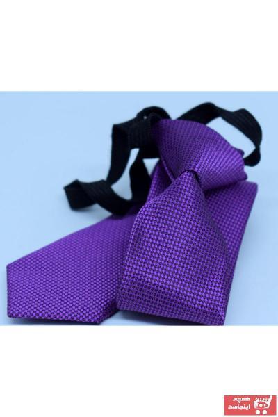 خرید نقدی کراوات شیک برند Blazzotti رنگ بنفش کد ty105903689