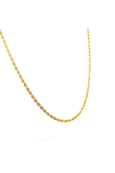 فروش اینترنتی گردنبند طلا مردانه با قیمت برند BERK MÜCEVHERAT رنگ طلایی ty106253243