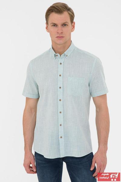 پیراهن مردانه فروش برند پیرکاردن رنگ نقره ای کد ty106288980