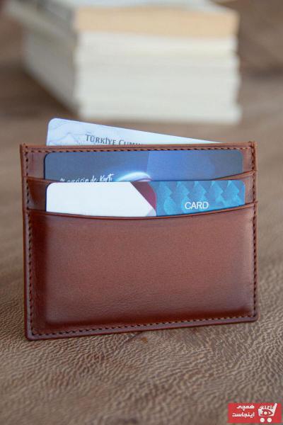 سفارش نقدی کیف کارت بانکی ارزان برند naft رنگ قهوه ای کد ty106463791