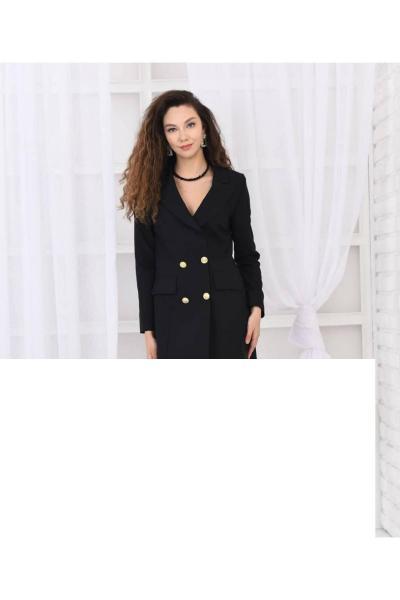 خرید ژاکت زنانه شیک برند MADAM KASVA رنگ مشکی کد ty106932135