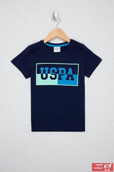 سفارش انلاین تیشرت ساده برند U.S. Polo Assn. رنگ آبی کد ty106939348
