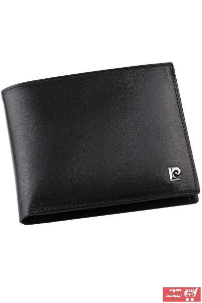کیف پول جدید مردانه اصل برند پیرکاردن رنگ مشکی کد ty106962800
