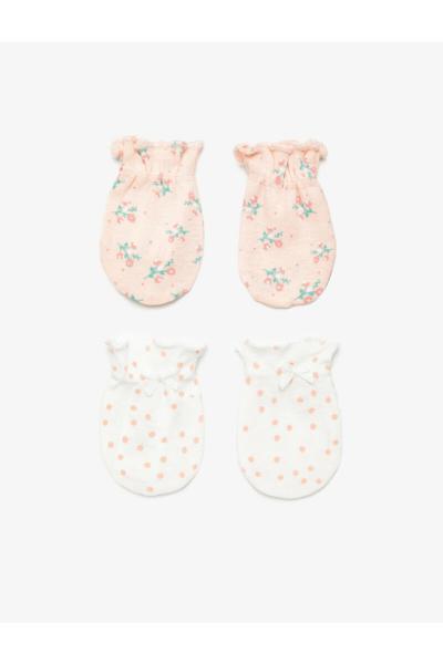 فروش  دستکش نوزاد ترک برند کوتون رنگ بژ کد ty106984742