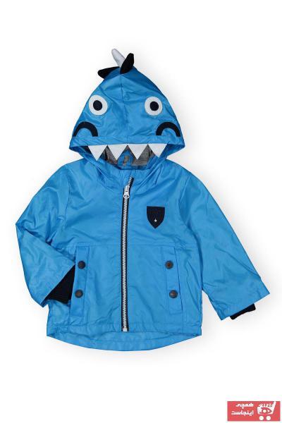 بارانی دخترانه اسپرت برند Verscon رنگ آبی کد ty107028924