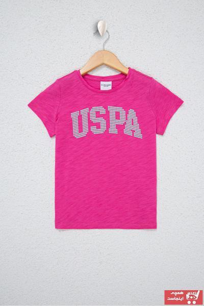 تیشرت دخترانه ست مارک U.S. Polo Assn.برند US Polo رنگ صورتی ty107062634
