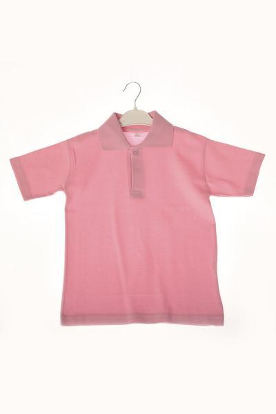 پولو شرت بچه گانه دخترانه ترک برند ÇÖLBAY رنگ صورتی ty107182295