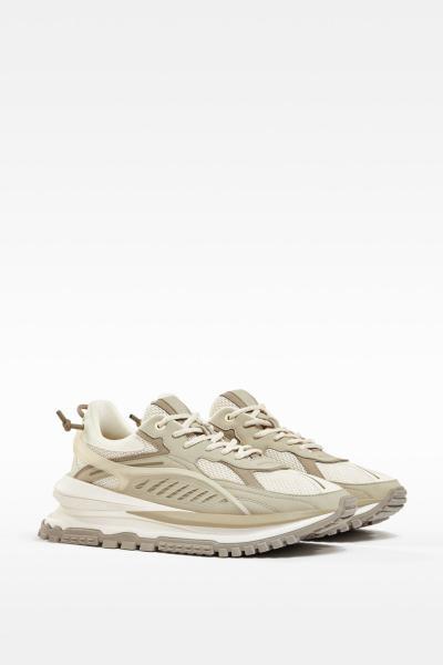 قیمت کفش کتانی مردانه مارک bershka رنگ بژ کد ty107203876