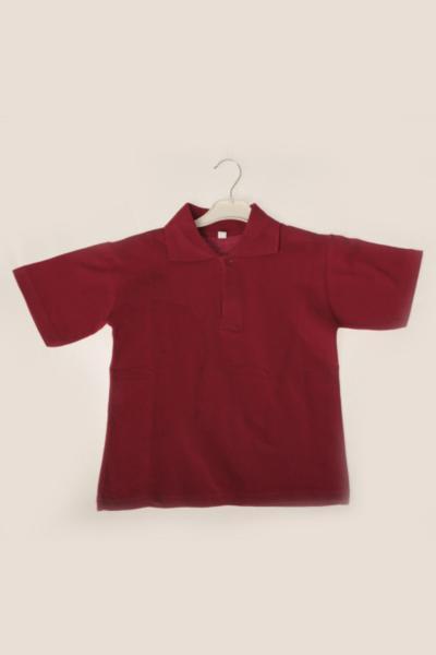 خرید ارزان پولو شرت بچه گانه دخترانه  برند ÇÖLBAY رنگ زرشکی ty107276569