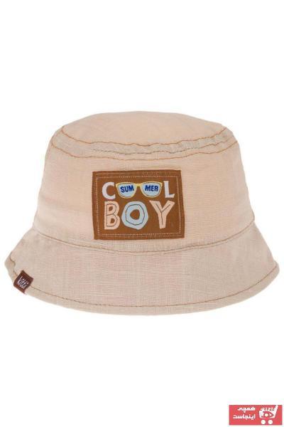 فروش کلاه نوزاد پسر برند POKY BEBE رنگ بژ کد ty107305414