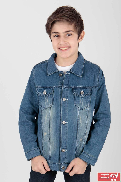 ژاکت پسرانه ست برند Ahenk Kids رنگ آبی کد ty107540614