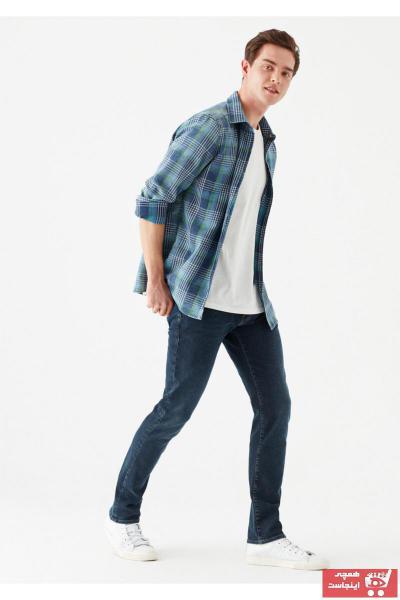 خرید اسان شلوار جین مردانه زیبا برند ماوی رنگ آبی کد ty108099573