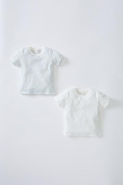 تیشرت نوزاد پسرانه شیک جدید مارک دفاکتو رنگ بژ کد ty108204249