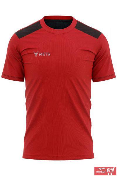 فروش تیشرت ورزشی مردانه جدید برند METS رنگ قرمز ty108381631