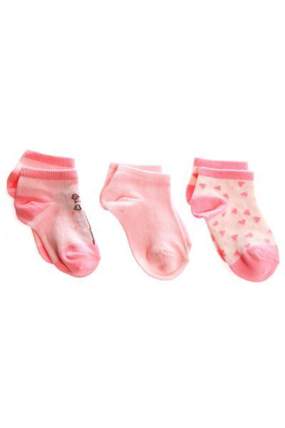 جوراب ساده برند Bolero رنگ صورتی ty108414573