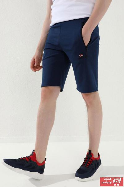 شلوارک مردانه قیمت برند تامی لایف رنگ لاجوردی کد ty109145870