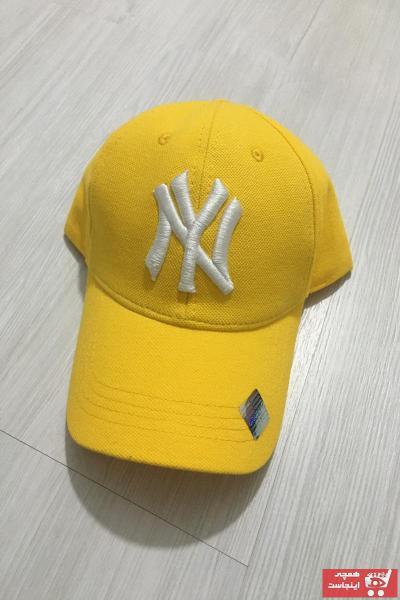 کلاه مردانه مجلسی برند KOGLU رنگ زرد ty109657180