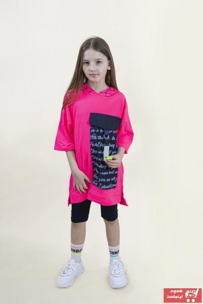 تونیک دخترانه طرح دار برند Benini رنگ مشکی کد ty109728495