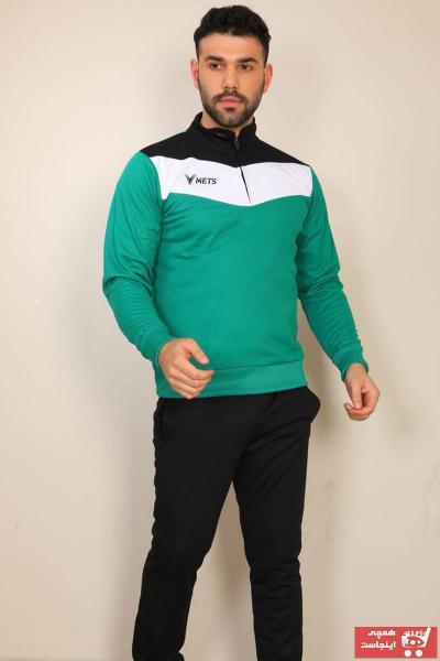 خرید اسان ست اسلش و گرمکن مردانه اسپرت جدید برند METS رنگ سبز کد ty109928494