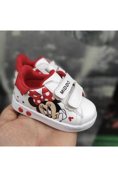 کفش اسپرت نوزاد دخترانه مدل برند MİDDO KİDS کد ty110758269