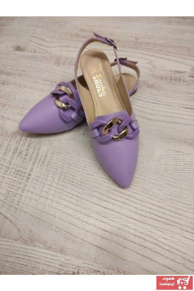 کفش تخت زنانه برند TUUBA SHOES رنگ بنفش کد ty111198106