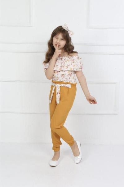 ست لباس دخترانه ارزان قیمت برند öykümgaleria رنگ زرد ty111210785