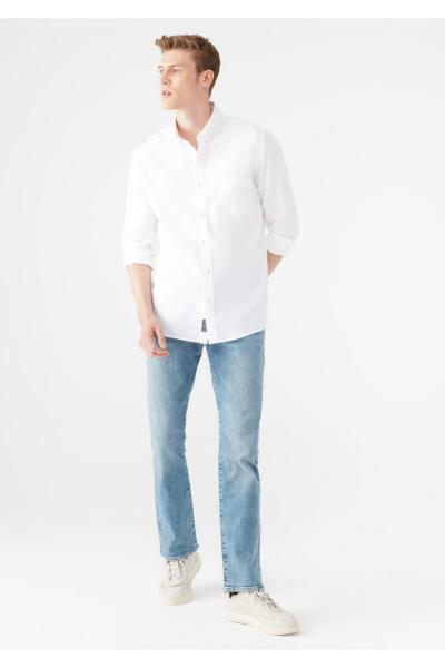 شلوار جین فانتزی برند ماوی رنگ آبی کد ty111216184