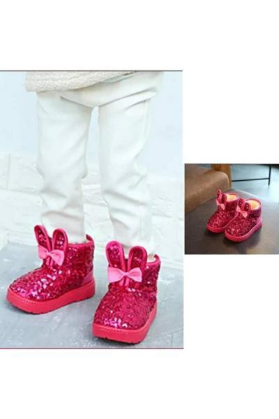 بوت بچه گانه دخترانه  برند Kidscocuk رنگ صورتی ty111364201