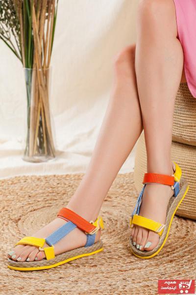 صندل مردانه با قیمت برند Odal Shoes رنگ زرد ty111666481