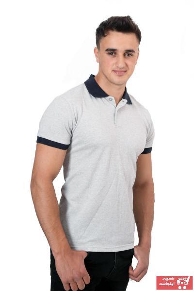 قیمت پولوشرت مردانه برند yakamor رنگ نقره ای کد ty111862779