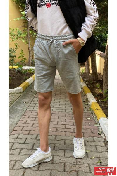 شلوارک مردانه ترک برند ClaSs fashion رنگ نقره ای کد ty112258394