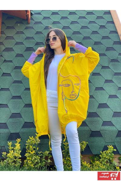سفارش انلاین بارانی ساده برند Ekocbutik رنگ زرد ty112459359