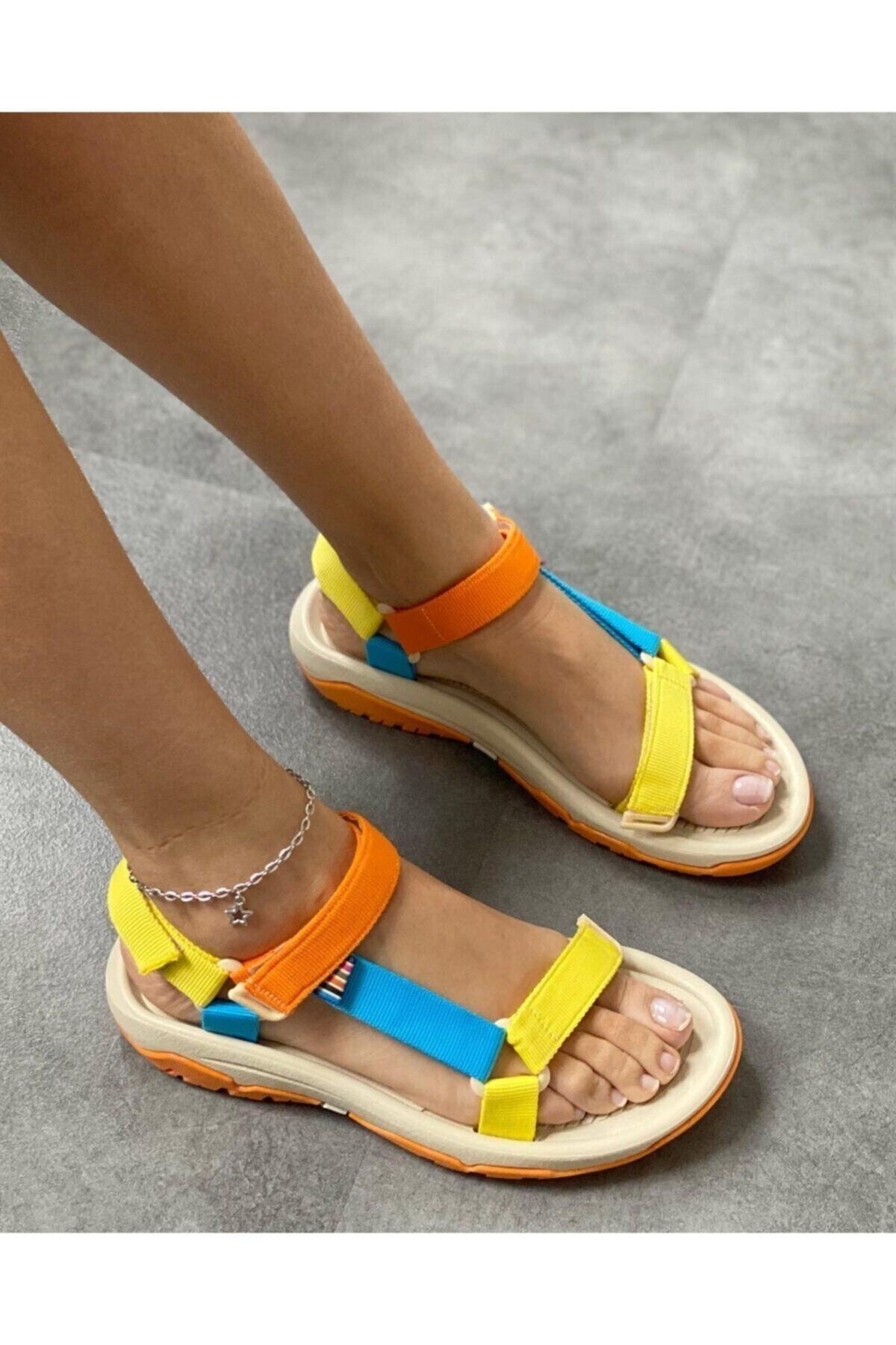 سفارش اینترنتی صندل  برند Orianna Design رنگ زرد ty112730432