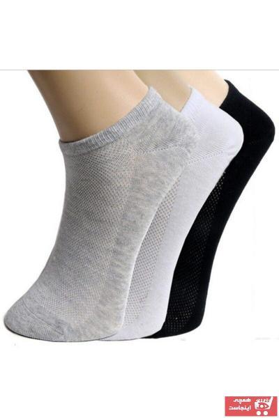 فروش جوراب مردانه نخی برند BennSi رنگ مشکی کد ty113297481