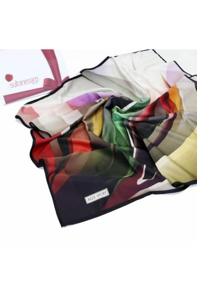 روسری زنانه اسپرت برند Aker رنگ سبز کد ty114275829