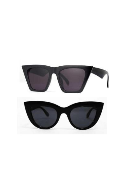 خرید اینترنتی عینک آفتابی زنانه از استانبول برند look at me baby رنگ مشکی کد ty114508552